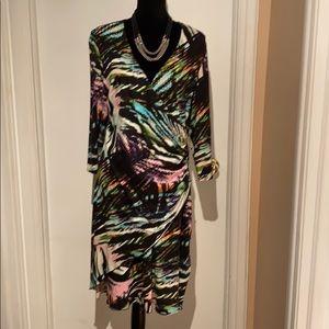 JOSEPH RIBKOFF-18) Stretch Dress - like NEW!!!!